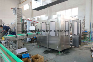 Automatic Complete Alcoholic Drinks Beer Wine Oil Water Juice Beverage Filling Machine 4in1 3in1 Monoblock Bottling Packing Plant Production Line pictures & photos