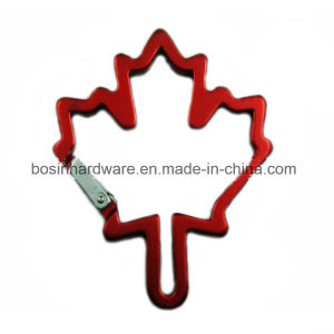 Maple Leaf Shaped Aluminum Carabiner Clip pictures & photos