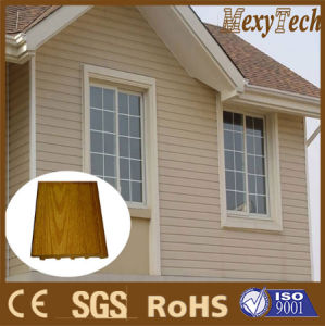 Guangzhou WPC Composite Wood Siding/Waterproof Wall Panels/Exterior Wood Wall Cladding pictures & photos