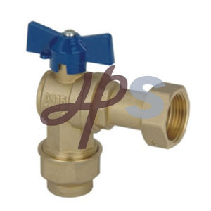 Forged Brass Ball Valve with Aluminum Lockable Handle for Water Meter pictures & photos