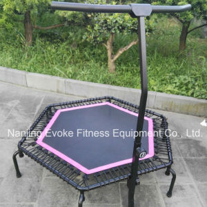 Rebounders Mini Bouncer Trampolines with T Handle Bar pictures & photos