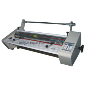 Hot Selling Heated One Sided Roll Laminating Machine Sh-650 pictures & photos