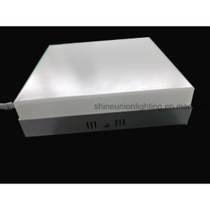 Square 12W Backlit LED Panel Light for Surface pictures & photos