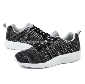 Breathable Mesh Surface Sports Shoes, Light Shock Absorption Running Shoes pictures & photos