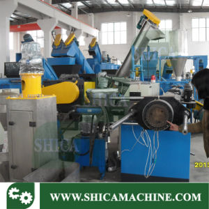 Double Stage Plastic Extrusion Machine for Granulating and Pelletizer Waste Plastic Film pictures & photos
