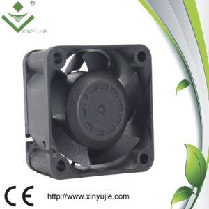 Radiator Cooling Fan Motor 24V, Mini Plastic Fan Blade 40*28mm Smoke Exhaust Fan pictures & photos