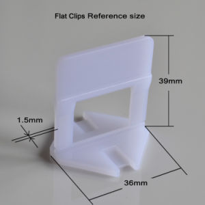 1.5mm Clip for 3-12mm Thickness Tile Leveling System pictures & photos