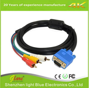 Premium VGA 15 Pin Male to TV Converter Cable pictures & photos