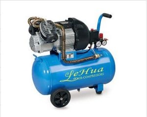 25L 3HP 2.2kw 220V 50Hz Direct-Driven Piston Portable Air Compressor pictures & photos