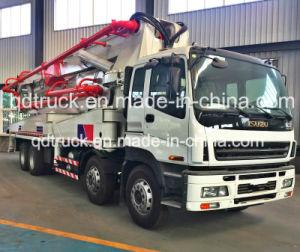 48/52M ISUZU truck-mounted concrete pump, Concrete Pump Truck pictures & photos