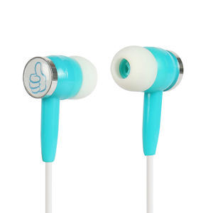 Colorful Custom Cute in Ear Stereo Wired Mobile Earphone pictures & photos