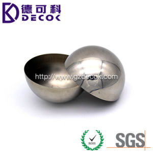 304 Stainless Steel 1′′ 2′′ 3′′ 5′′ Hemisphere Soap Mold pictures & photos