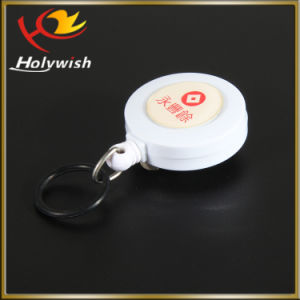 Plastic Badge Reel with Meta Hook for ID Card Holder pictures & photos