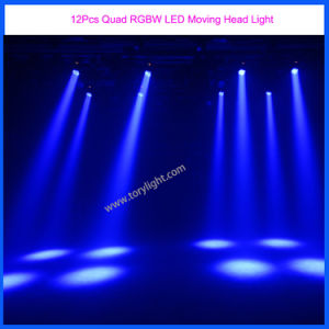 Stage LED 12PCS Quad Moving Head Night Club DJ Light pictures & photos