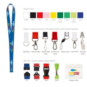 Cheap Custom Polyester Printed Lanyard pictures & photos