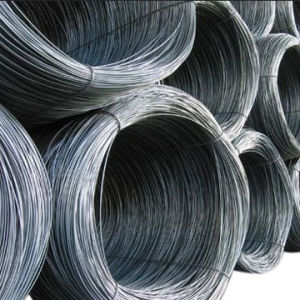 SAE1008 Non-Alloy 5.5mm-12mm Steel Wire Rod with High Quality Made in China pictures & photos