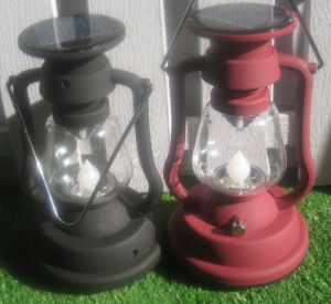 High Quality Waterproof Solar Hand Lantern Light with Hand Crack
