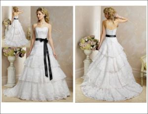 Romantic Wedding /Bridal Dress (Angela-118)