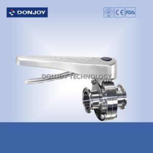 Stainless Steel Manual Clamp Butterfly Valve with Multi Position pictures & photos