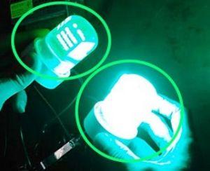 18W IP68 Lumen Green Underwater Fish Light, Portable Green Underwater Fishing Lights and Dock Lights