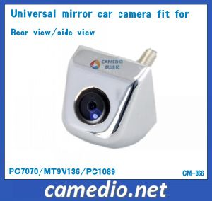 Metal Housing Screw Mirror Universal Auto Camera Fit for Rear View/Side View pictures & photos