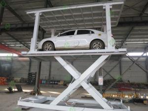Double Platform Car Parking Scissor Lift pictures & photos