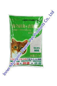 Nature Bentonite Litter Used for Cat Toliet pictures & photos