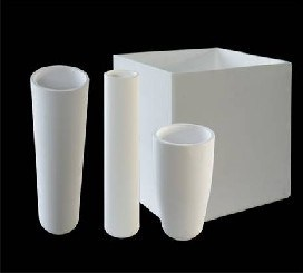 Square/Cylinder Quartz Crucilbe for Lab pictures & photos