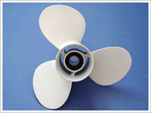 3-Blade Aluminum Outboard Propeller pictures & photos