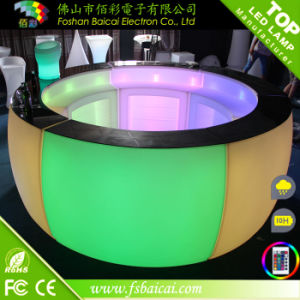 Outdoor All- Weather Glowing Fashionalbe Acrylic Bar Counter