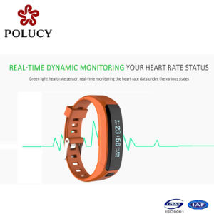 Fashion Latest Design Heart Rate Smart Bracelet with Waterproof Bluetooth Watch pictures & photos