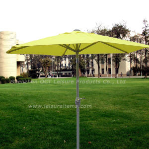 Yellow Patio Umbrella with Crank (OCT-AU001) pictures & photos