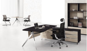Melamine MDF Office Furniture Manager Desk pictures & photos