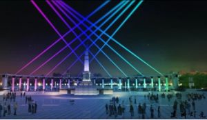 Outdoor DMX Moving Head Color-Changing Sky Search Light pictures & photos