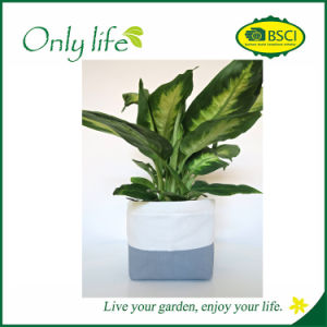 Onlylife Multi-Functional Fabric Planter Storage Basket Flower Pot pictures & photos
