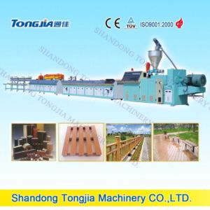 Wood and PP PE PVC Profile Extruder Machine pictures & photos