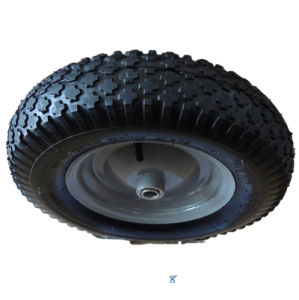 4.00-8 Pneumatic Rubber Wheel (diamond pattern)