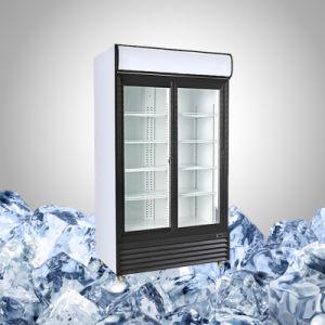 Commercial Glass Door Beverage Display Refrigerator pictures & photos