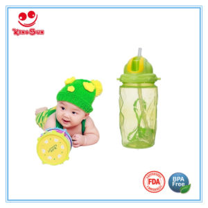 BPA Free Large Kids Sport Water Bottle with Soft Straw pictures & photos
