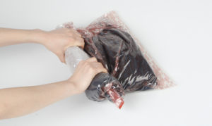 High Quality Vacuum Roll-up Seal Bag pictures & photos