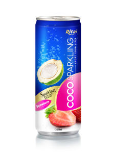 250ml Strawberry Flavour Coconut Water pictures & photos