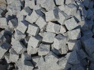 Cheap Chinese Grey Granite Cubestone G603 pictures & photos