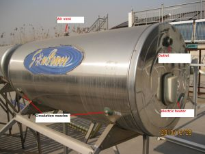 Water Tank for Flat Plate Solar Collector pictures & photos