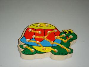Wooden Toys - String Tortoise (ZYYB-0722)