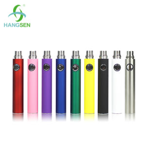 Voltage Adjustable Electronic Cigarette Evod Battery 900mAh Twist Evod Kit pictures & photos