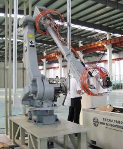 Waterjet Cutting System---Dcm Robot Water Cutting System pictures & photos