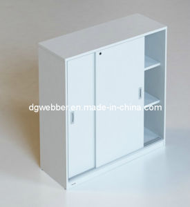 Office MFC Sliding Door Cabinet pictures & photos