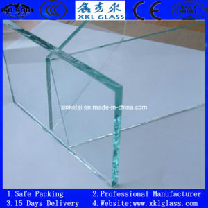 3-25mm Clear Tempered Glass with CE, CCC, ISO Certificate