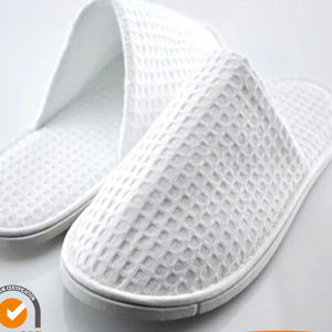 High Quality Hotel Waffle Design Slipper (DPH7041) pictures & photos