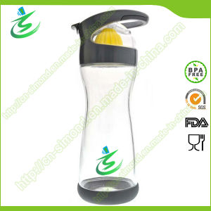 20 Oz Glass Water Bottle with Lemon Juicer pictures & photos